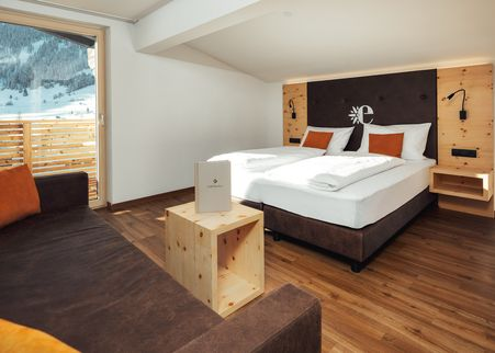 Doppelzimmer Alpenjuwel Zirbe Superior