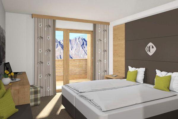 Zimmer im Hotel Edelweiss Nauders
